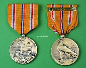 Image Is Loading WWII Asiatic Pacific Campaign Medal Full Size Made