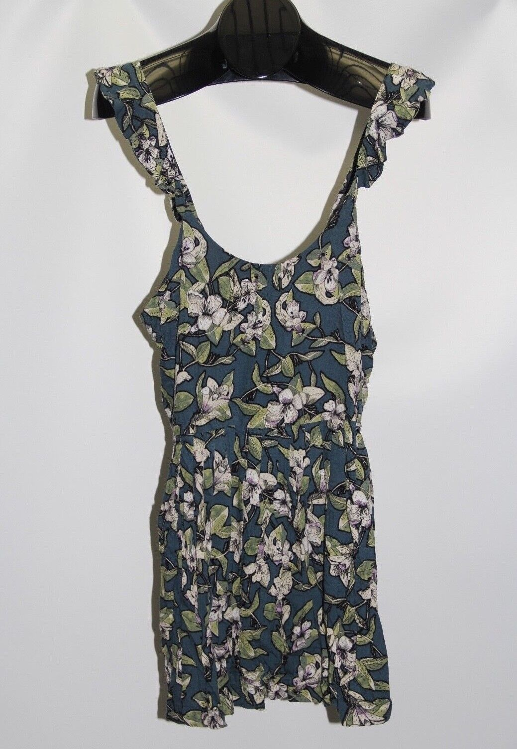 New Free People bluee Women's Size Small Dear You Printed Floral Mini Dress