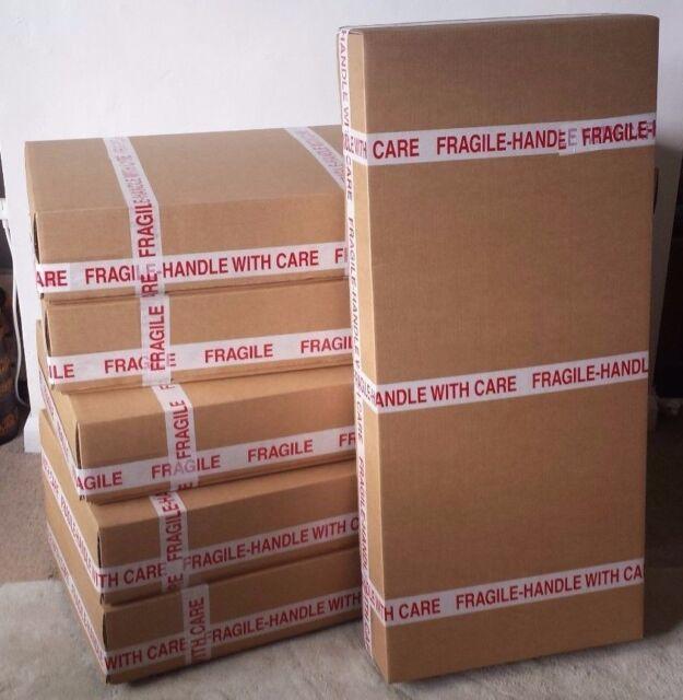UK Courier conforme-STRONG-Boîte en carton pour une livraison une guitare électrique