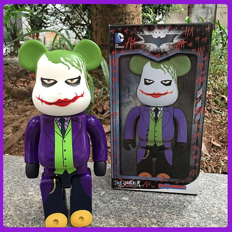 Be@rbrick The Joker Vinyl Medicom 400% Bearbrick Art Craft  Action   Hot 2019