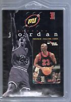 Michael Jordan MJ Prepaid Calling Card WorldCom PhonePass 30 Minutes Vtg Sealed