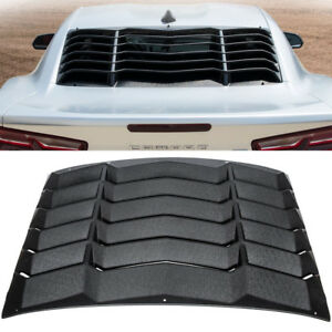 Rear-Window-Louver-GT-Lambo-Style-SunShade-Cover-For-Chevy-Camaro-2016-2017-2018