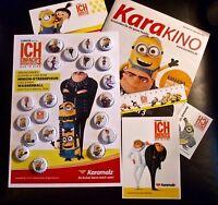 Ich - Einfach unverbesserlich 3 - komplett: 20 Kronkorken + Fanartikel Karamalz