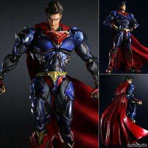 DC-Comics-Variant-Play-Arts-Kai-SuperMan-PVC-Action-Figure-Statue