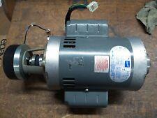 Doerr 34hp Electric Brake Motor 208vac Single Phase 3500rpm Nos