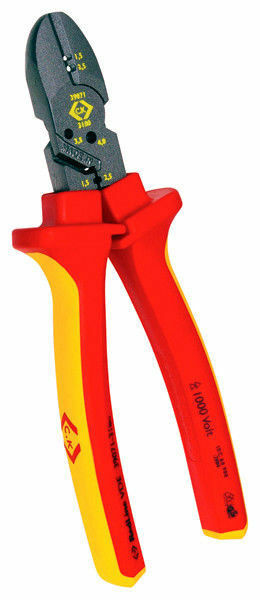 CK COMBICUTTER 3 MAX 180mm Redline VDE Side Wire/Cable Cutter Plier T39071-3180