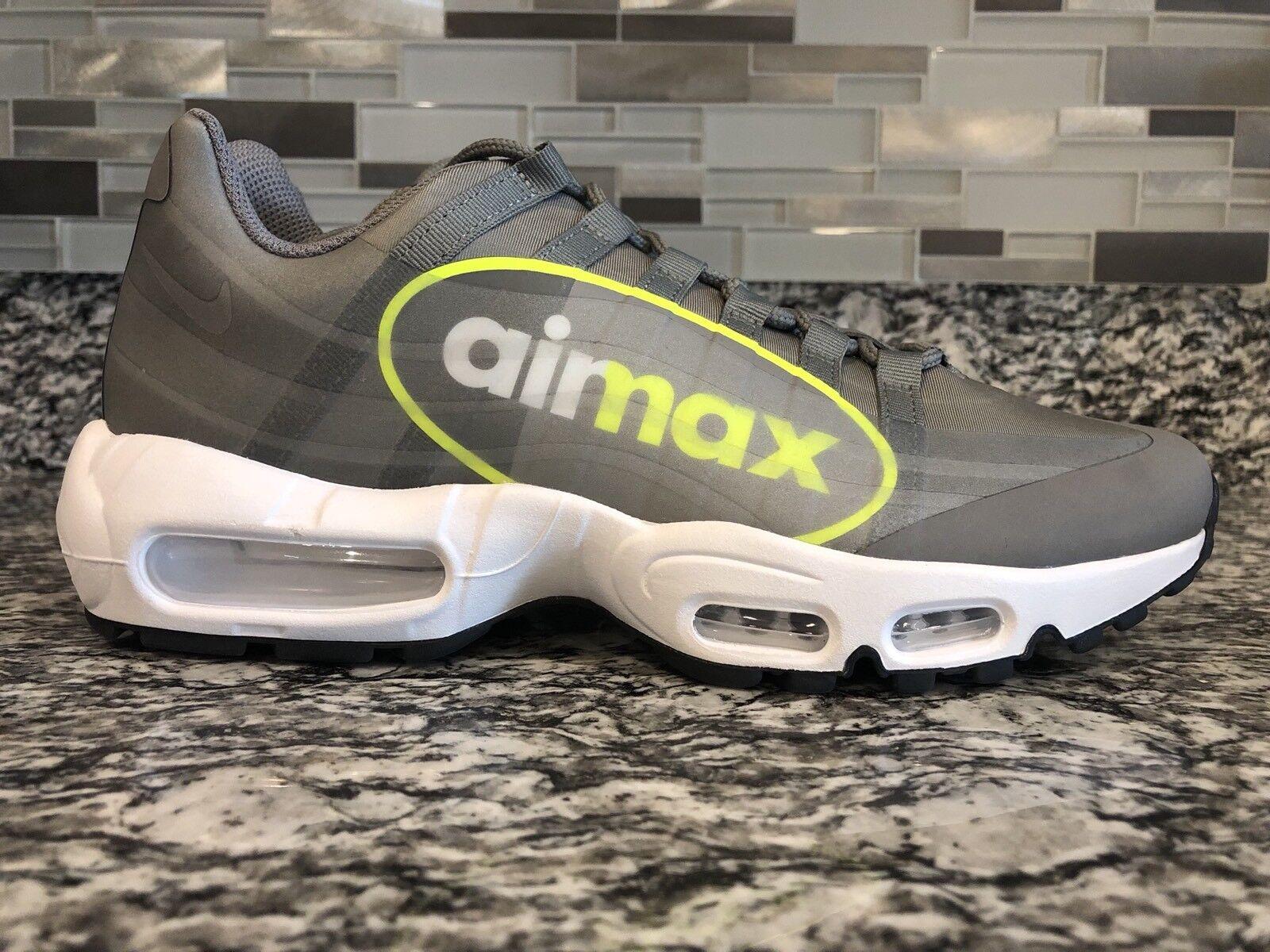 2017 Nike Air Max Max Max 95 NS GPX SZ 8 Big logo Dust Volt Pewter Neon OG AJ7183-001 cafac6