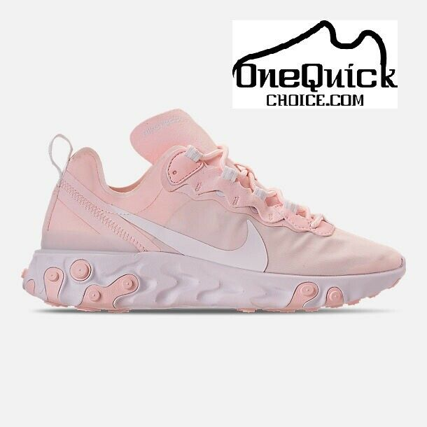 Women's Nike React Element 55 Pale Pink