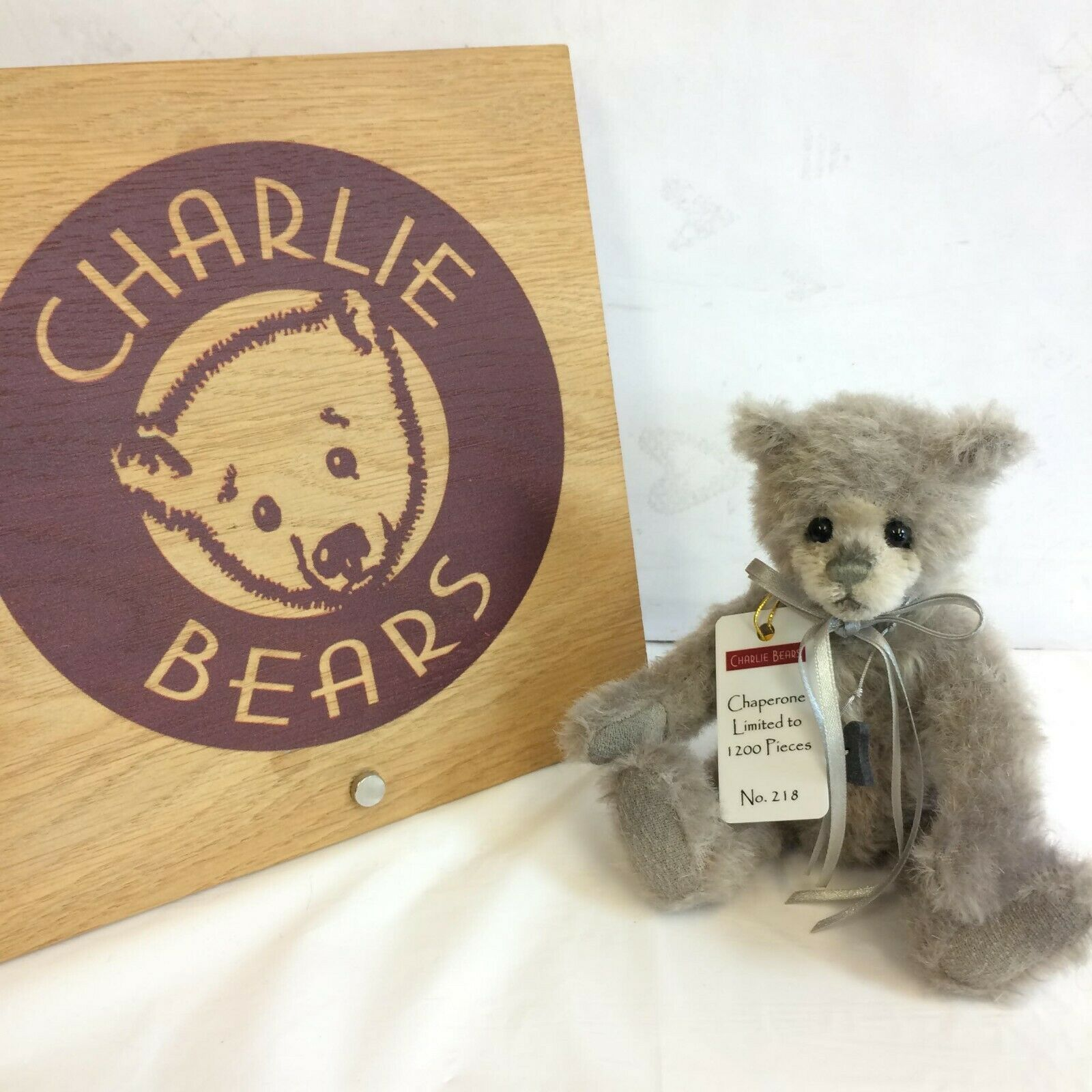 Charlie Bears Chaperone Minimo Bear - BNWT - OFFICIAL STOCKIST