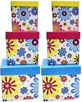 Alef Elegant Decorative Themed Nesting Gift Boxes -3 Boxes