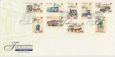 (FDC9X033) SINGAPORE 1997 Transportation Definitives First Day Cover FDC