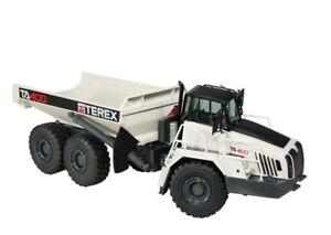 Camion à benne basculante authentique Terex Ta 400 Artic gris 1:50 Nzg (modèle du concessionnaire)
