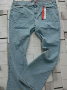 Sheego-Jeans-Pants-Size-44-to-54-Blue-Denim-plus-Size-119-143-118-969