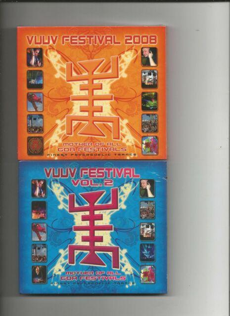 V.A. - VuuV Festival 2008 + Vol. 2 (2 x 2-CD) ATMOS,SHIVA CHANDRA,SUN PROJECT...