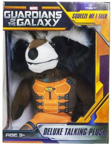 Guardians Of The Galaxy Sprechend Englisch 38 cm Groß NEU Rocket Plüsch