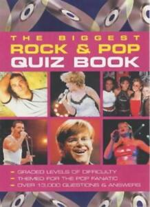 The Biggest Pop Quiz Book Ever! (Puzzle House)-