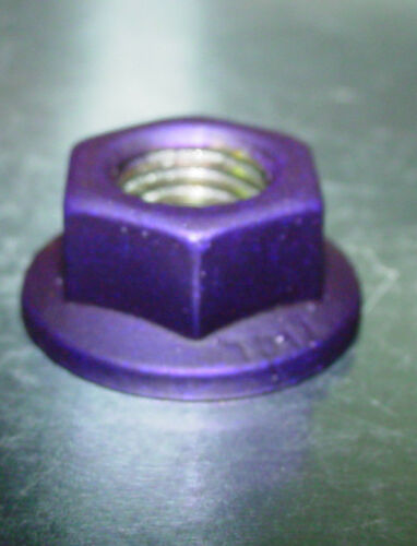 16 10mm x 1.25 ATV Lug Nuts Anodized Purple Powder Coated Honda Yamaha Kawasaki