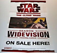 STAR WARS CLONE WARS WIDEVISION MINI POSTER