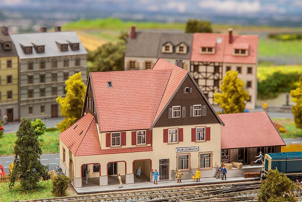 Faller 282708 stazione ferroviaria durlesbach, Traccia Z