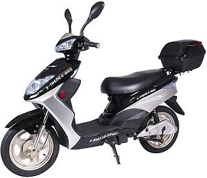 x treme xb 504 electric bicycle scooter moped 12 amp. Black Bedroom Furniture Sets. Home Design Ideas