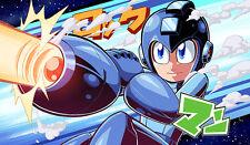 E458 Free Mat Bag Mega Man Play Mat Card Games Playmat Large Mouse Pad YUGIOH