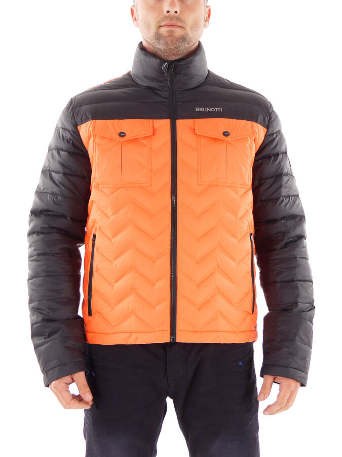 Brunotti chaqueta vellón función chaqueta Wave naranja viento denso caliente