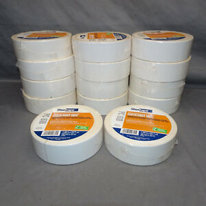 Lot-of-14-Rolls-Shurtape-PC-618-CLOTH-DUCT-TAPE-2-034-x-60-yds-48mm-x-55m-WHITE