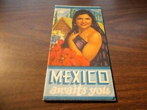 "1930's NdeM NATIONAL OF MEXICO ""MEXICO AWAITS YOU"" BROCHURE"