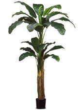 8'+5' Banana Artificial Tree in Pot Silk Plants Decor. 48