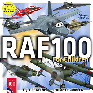RAF100-For-Children-by-F-J-Beerling-Paperback-2018