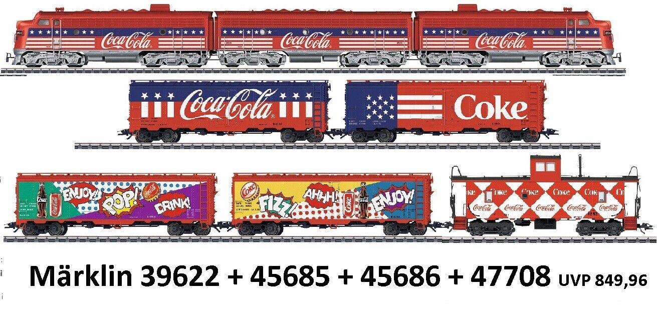marklin 39622456854568645708 COCACOLA ® treno NUOVO OVP