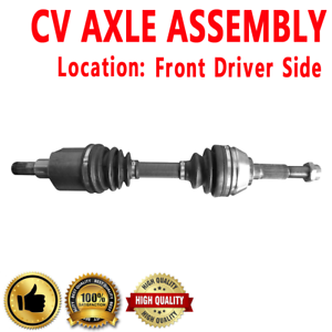 1x Front Driver Side CV Axle Drive For CHEVROLET BLAZER 97-05 S10 97-04 Base 4WD