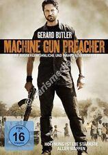 DVD: MACHINE GUN PREACHER - Hoffnung ist die stärkste Waffe - Spielfilm  *NEU*