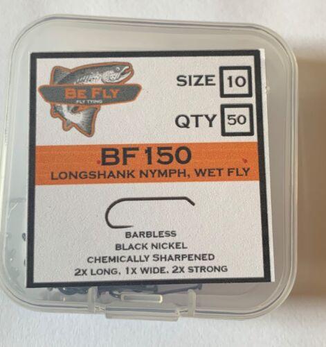 Longshank Nymph Wet Fly Barbless Fly Tying Hooks