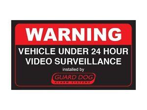 Warning-vehicle-under-24-hour-video-surveillance-Bumper-Sticker