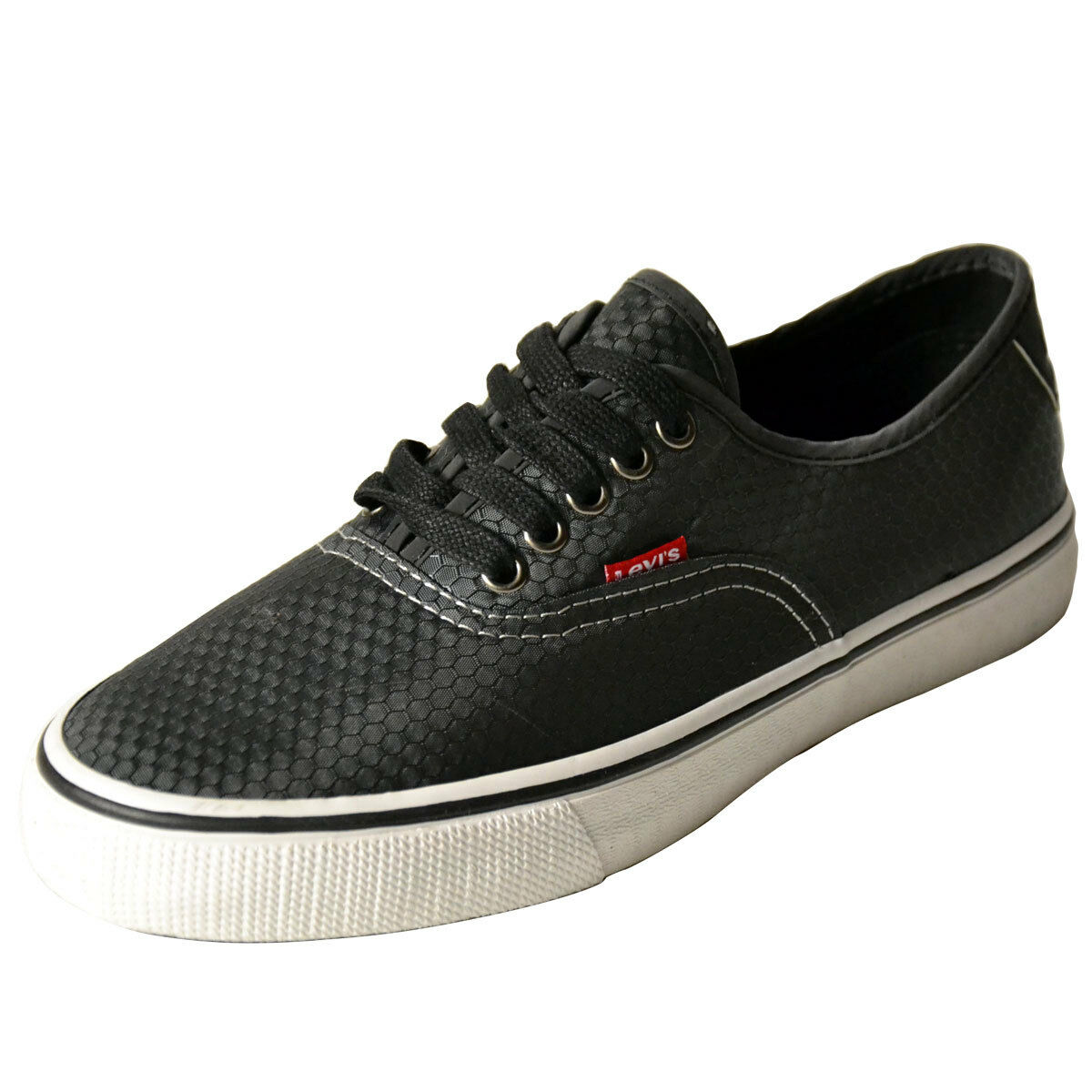 Levis Shoes Jordy Energy 2.0 Charcoal Mens Sneakers
