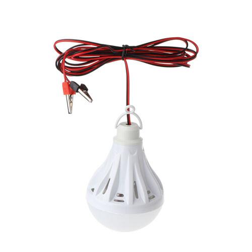 12 V 3W//15W SMD DEL Lampe Portable Extérieur Camping Tente Pêche Nuit Lumière Suspendue