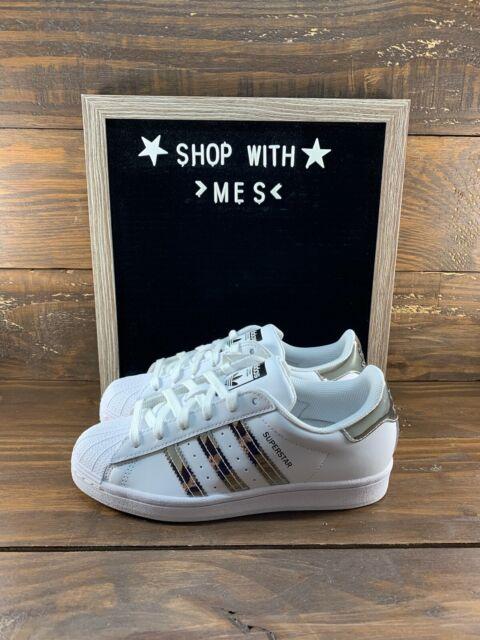 Size 7.5 - adidas Superstar Metallic 3 Stripes 2020