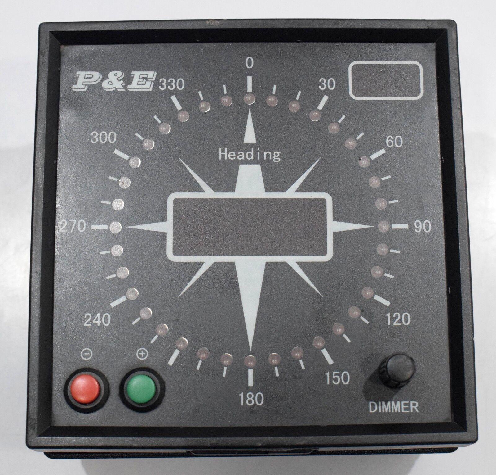 P&E C43 Gyro Interface Marina Barco es instrumento de navegación