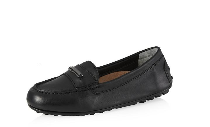Vionic onore Ashby MOCASSINO/scarpa Da Guida In Pelle Nera /37.5 NUOVO con scatola prezzo consigliato