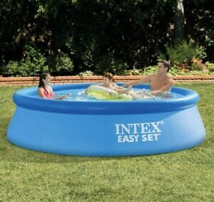 Intex 10ft 3 05 M Easy Set Ring Pool With Filter Pump Next Day Delivery Ebay