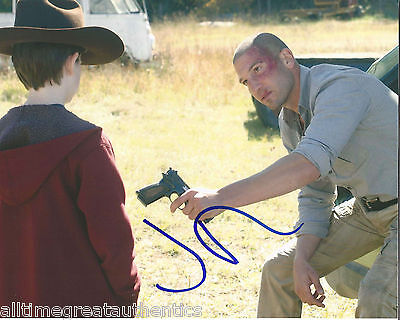 Jon Bernthal Hand Signed Authentic The Walking Dead 'shane' 8x10 Photo 2 W/coa Photographs
