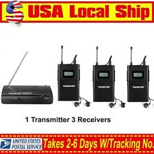 Takstar WPM-200 Wireless In-Ear Stage Monitor System 1 Transmitter 3 Receivers