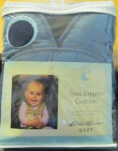 Eddie Bauer Baby Total Head Support Cushion for Car Seat Carrier Stroller -BLUE