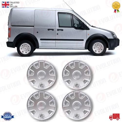 """4 x 15/"""" ruota rifinitura coperchio in plastica ABS solido Si Adatta Ford Focus collegare"""