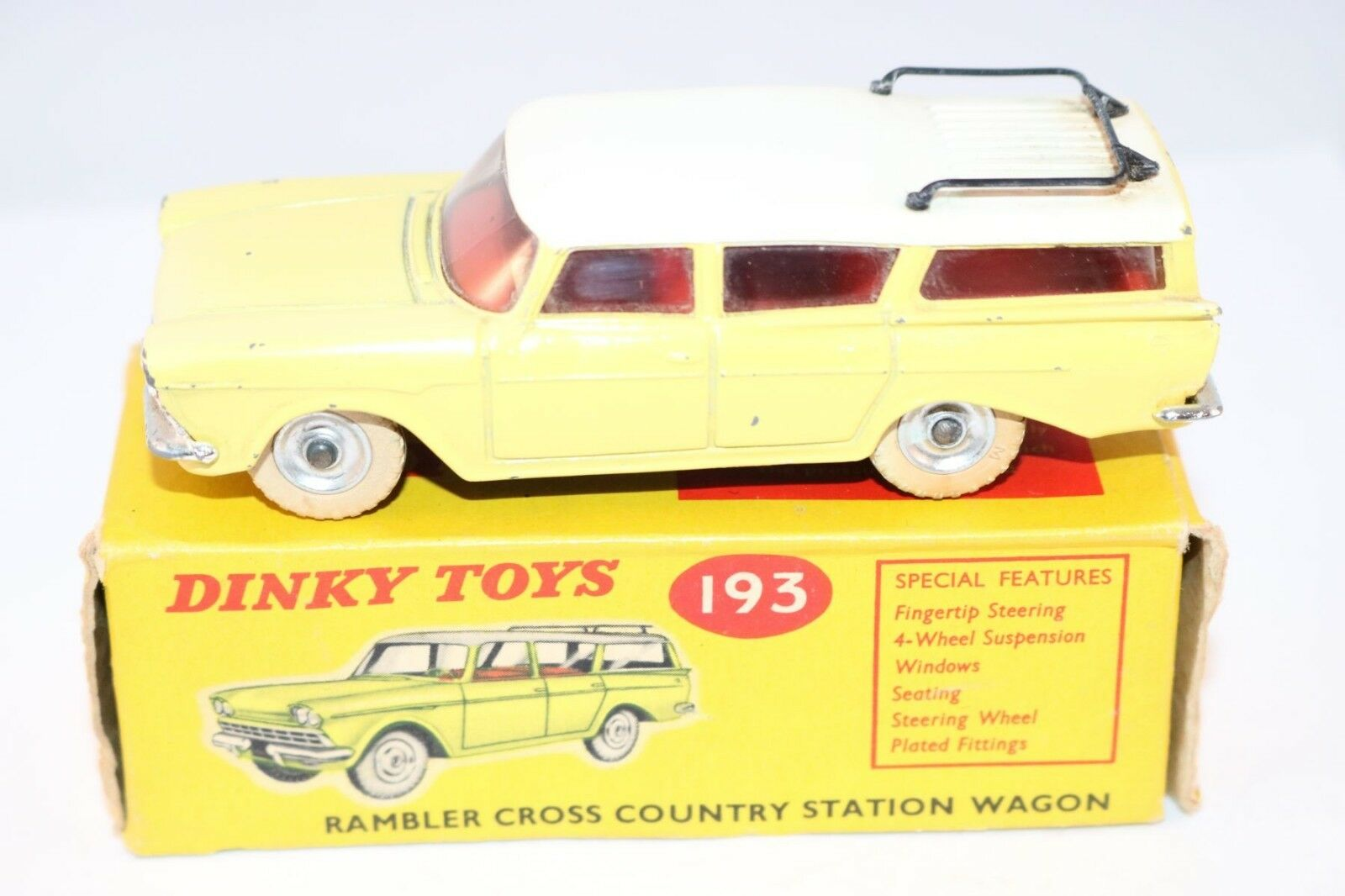 Dinky Toys 193 Rambler Station wagon in excellent plus all original condition