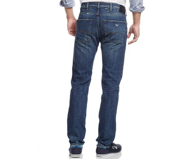 NEW MENS Armani Jeans J45 Regular Fit  regular Rise Zip Fly Jeans Sizes all