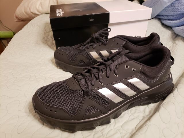 f6365050202ce Frequently bought together. Mens Adidas Rockadia Trail Running Black Sport  Athletic Shoes CG3982 ...