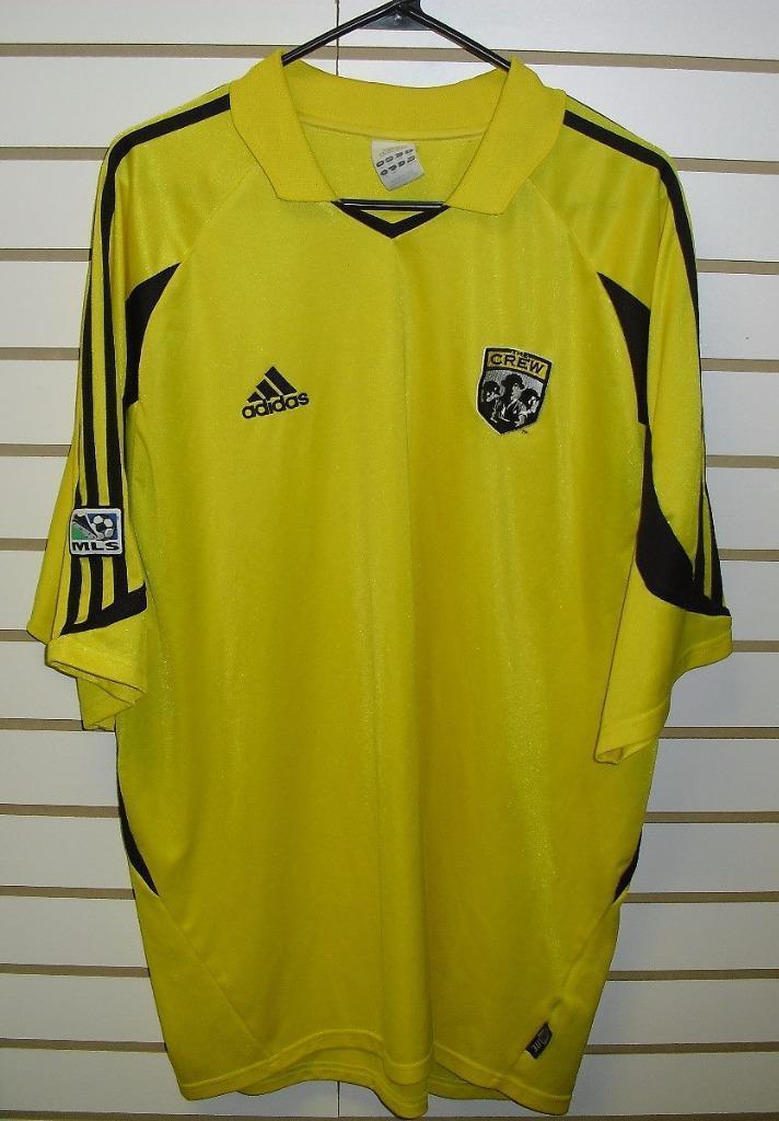 Columbus Crew sz xxl 2xl RaRe MLS soccer jersey shirt ADIDAS rare climalite
