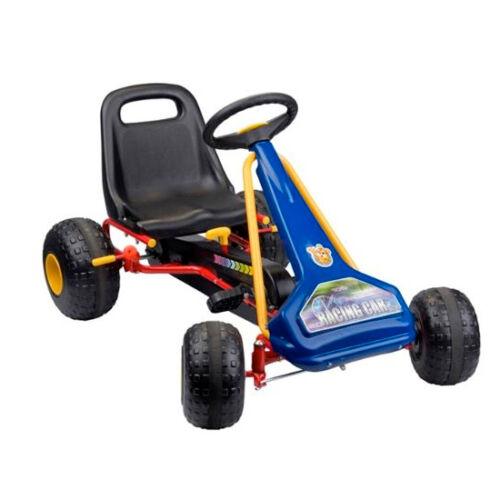 Go Kart a Pedali Cambio Manuale 2 Posizioni Go-Kart Ragazzi Sedile Regolabile
